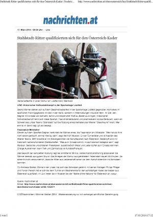 Nachrichten.at Stahlstadt-Ritter