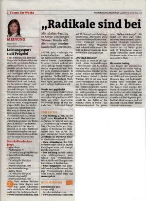 Rundschau Steyr 28.Juni.2012